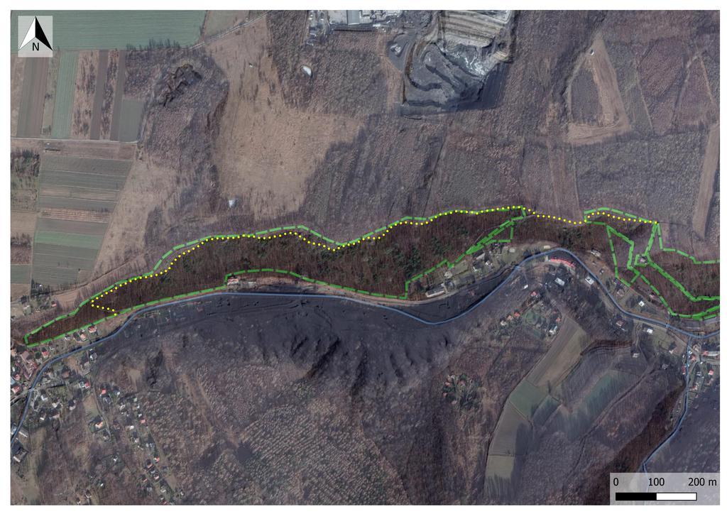 udostępniony szlak w RP Olszak