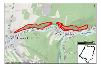 Rezerwat przyrody Olszak, źródło: RDOŚ Opole