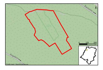 Rezerwat przyrody Rogalice, źródło: RDOŚ Opole