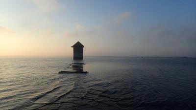 Zbiornik Nyski, punkt obserwacyjny, źródło: RDOŚ Opole
