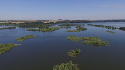 wyspy na zbiorniku Nyskim, autor: Dorota Twardzik