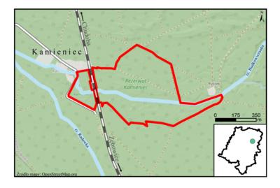 Rezerwat Kamieniec, źródło: RDOŚ Opole